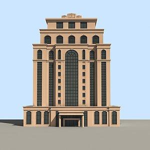 3d欧式公建模型