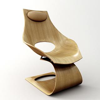 创意休闲椅3d模型