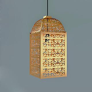 创意镂空鸟笼吊灯3d模型