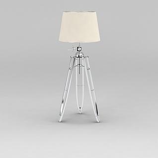 现代客厅可调节落地灯3d模型