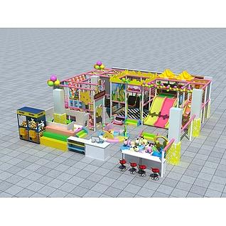 儿童游乐园3d模型3d模型