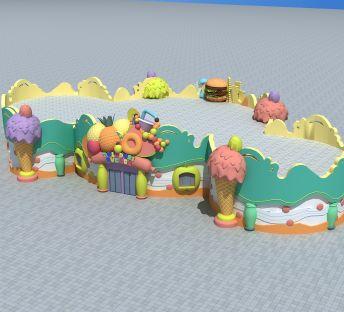 游乐园甜品屋