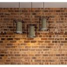 餐厅麻绳铁艺吊灯模型