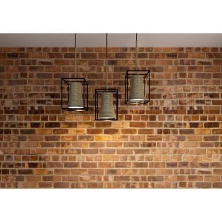 餐厅麻绳铁艺吊灯3d模型