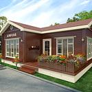 花园木屋模型