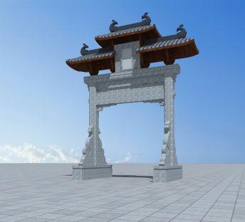 通济桥牌坊