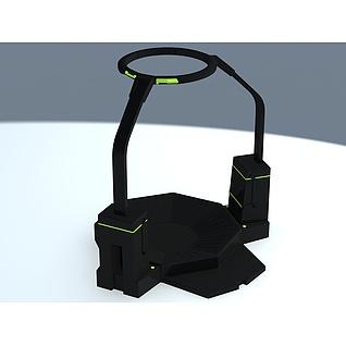 VR跑步机3d模型