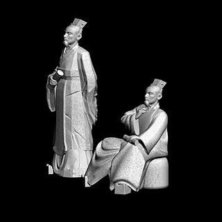 古代<font class='myIsRed'>人物</font>雕塑3d模型