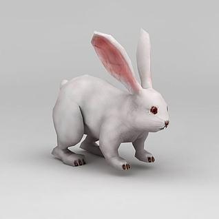 小白兔3d模型3d模型