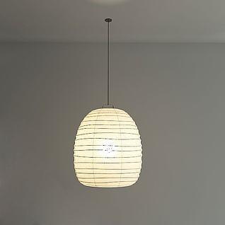 简约现代吊灯3d模型