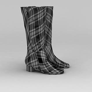 女士鞋子3d模型