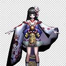 阴阳师雪女模型