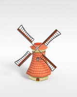 风车3d模型