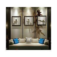 新中式沙发立体装饰画组合3D模型3d模型