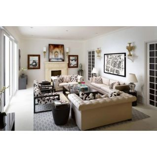 欧式沙发沙发茶几组合3d模型