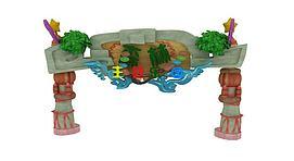 森林公园主题大门模型