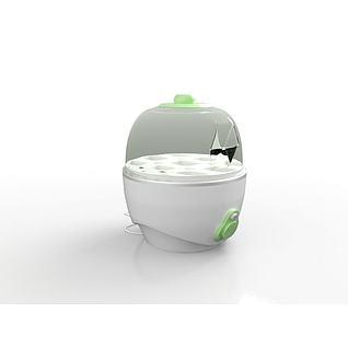 煮蛋器3d模型