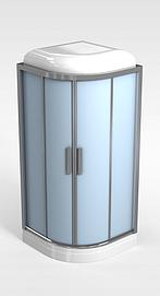 独立淋浴房模型