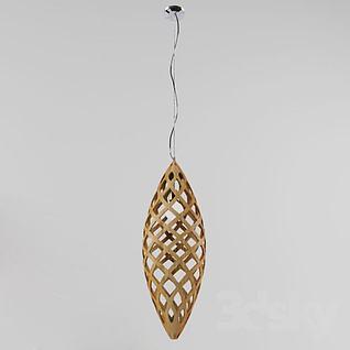 创意编织网状吊灯3d模型