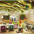 幼儿园卡通家具模型