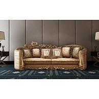 奢华欧式雕花沙发3D模型3d模型