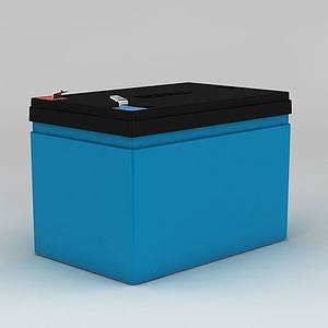 超威电池动画模型