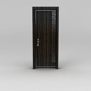 高档室内木门3d模型