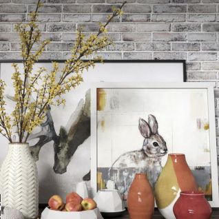 现代陶瓷花瓶摆件组合3d模型
