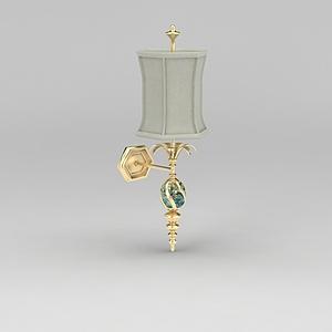 精美奢華壁燈模型3d模型