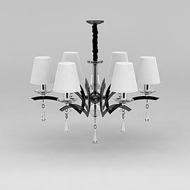 精美欧式吊灯3d模型