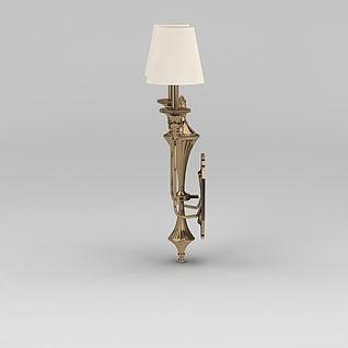 纯铜壁灯3d模型