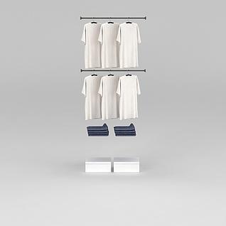服装店衣服3d模型3d模型
