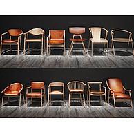 简约现代椅子3D模型3d模型