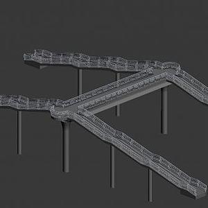 过街天桥模型