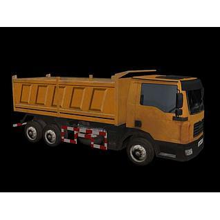 自卸汽车3d模型
