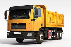 3D自卸汽車模型
