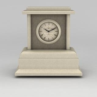 座钟3d模型