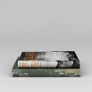 精装书籍3d模型3d模型