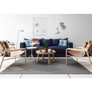 北欧沙发椅子茶几组合3d模型