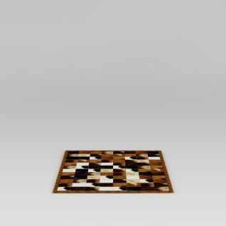 拼图地毯3d模型
