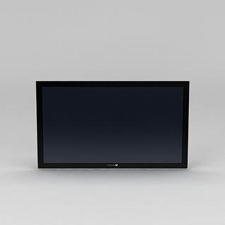 电视屏3d模型3d模型