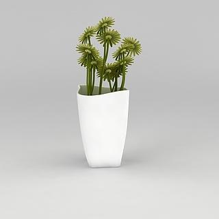 室内<font class='myIsRed'>绿植盆栽</font>3d模型