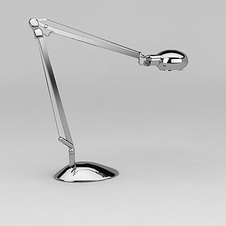 现代长杆壁灯3d模型