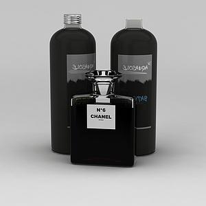香奈儿6号香水模型