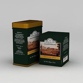 锡兰红茶3d模型