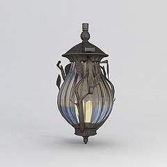 欧式庭院灯模型3d模型