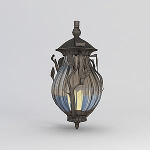 欧式庭院灯模型