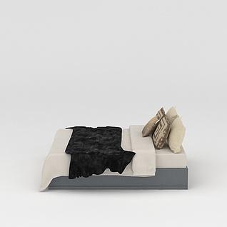 寝具3d模型