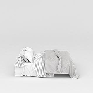 素雅寝具3d模型