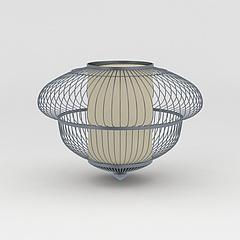 铁艺灯笼灯饰模型3d模型